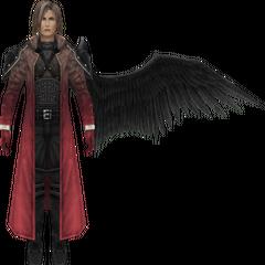 Degrading model in <i>Crisis Core -Final Fantasy VII-</i>.