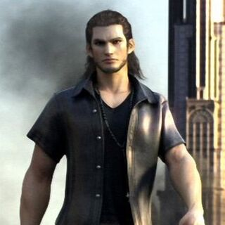 Gladiolus's early model from <i>Final Fantasy Versus XIII</i>.