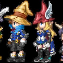 <i>Final Fantasy IX</i> crossover.