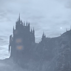 Exterior view of Ishgard.