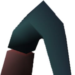 Field model of Jenova's arm in <i>Final Fantasy VII</i>.