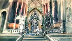 Kuja's Palace Artwork