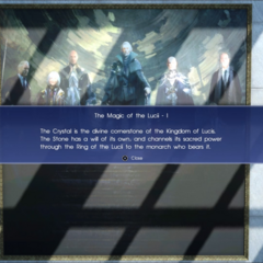 The kings explained in the tutorial.