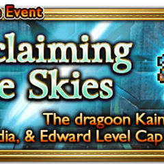 Global event banner for Reclaiming the Skies.