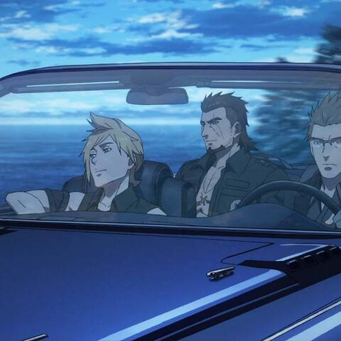 Gladiolus and the party on Regalia.