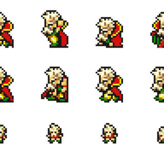 Set of Strago's sprites.