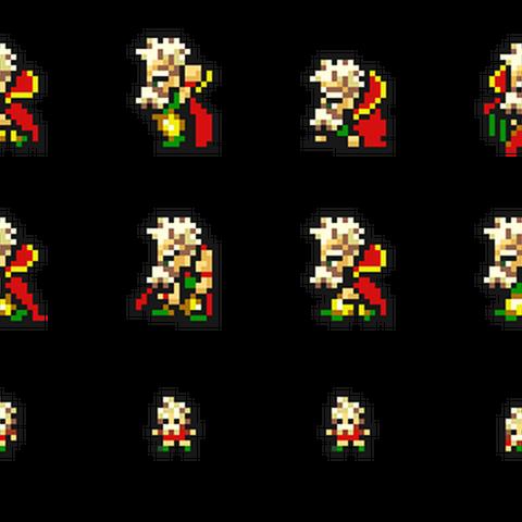 Set of Strago's sprites.