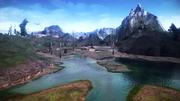 FFXIII-2 Archylte Steppe Lake