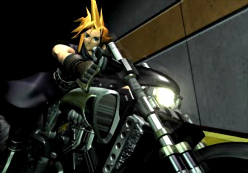 Image result for ffvii cloud