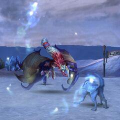 Valefor attacks.