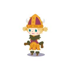 A female Viking in <i><a href=