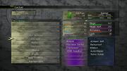 FFX-2 HD Creature Menu