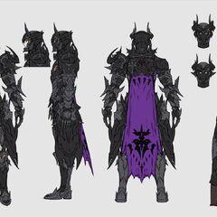 Armor concept art.