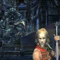 If the player has Basch in the battle formation, they get an extra scene.