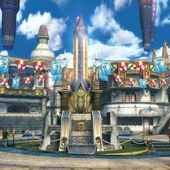 In-game screenshot of Luca.