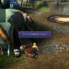 Popup window in <i>Final Fantasy X HD Remaster</i>.