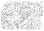 Lindblum Business District Inn FF9 Art 1