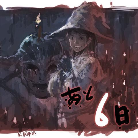 Edda and Avere's artwork for <i>Final Fantasy XIV</i> 1st Anniversary event.