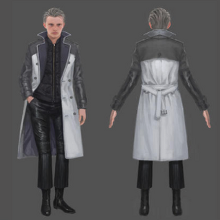 Concept artwork of young Ravus.
