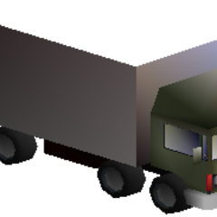 A Shinra truck that appears during the battle against Palmer in <i>Final Fantasy VII</i>.
