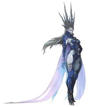FFXIV Shiva Concept