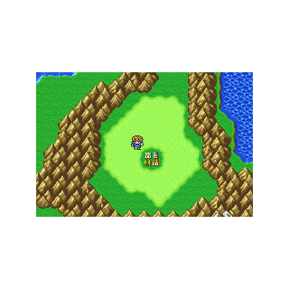 The town of Jachol on the world map (GBA).