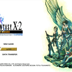 <i>Final Fantasy X-2: Last Mission HD Remaster</i> (PS3).