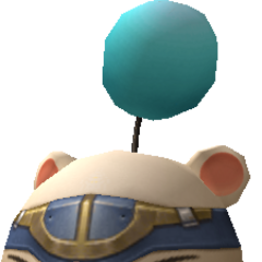 Model of the moogle of Class First.