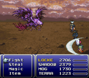 FFVI Reflect when HP is low