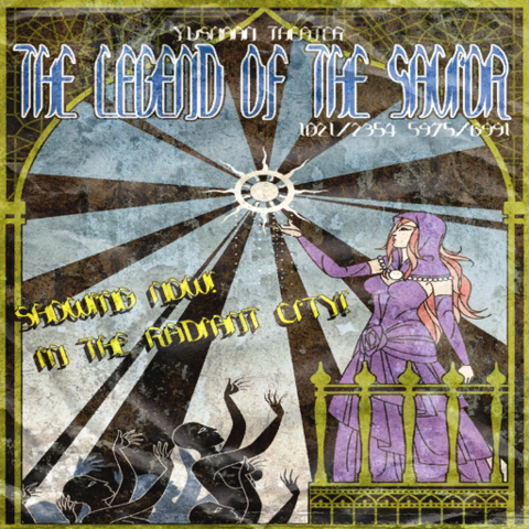 Poster advertising <i>The Song of the Savior</i>.