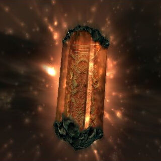 Exodus's crystal in <i>Final Fantasy XII</i>.