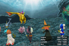 FFIII iOS Underwater Battle