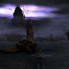 The Submerged Ruins.