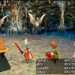 Tome of Fire in <i>Final Fantasy III</i> (DS).