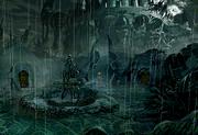 Burmecia city of rain