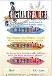 Crystal Defenders iPhone Menu