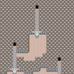 The second basement, second area of Bone Dungeon.