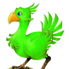 Green Chocobo.