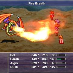 Fire Breath.