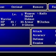 <i>Final Fantasy</i> (PSP).