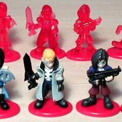 [[List of Final Fantasy and Coca-Cola marketing campaigns|Coca-Cola bottlecap figure.