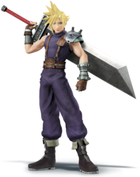 SSB4 - Cloud Strife