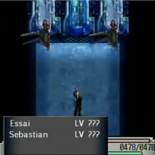 Battle against Essai and Sebastian.