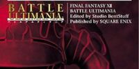 Final Fantasy XII Battle Ultimania