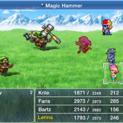 <i>Final Fantasy V</i> (iOS).