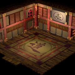 Wutai, Godo's Pagoda (Floor 1).