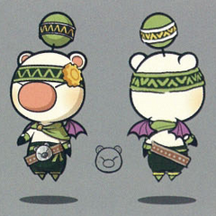 Artwork of the moogle of Class Fifth.