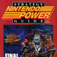 Nintendo Power cover.