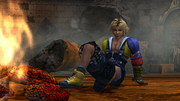 FFX HD Tidus Camp