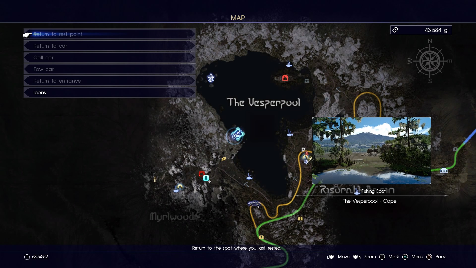 Vesperpool final fantasy wiki fandom powered by wikia for Final fantasy 15 fishing guide